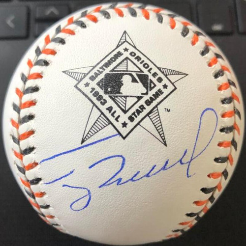 SOLD 105639 Terry Mulholland Autographed 1993 All-Star Game Baseball