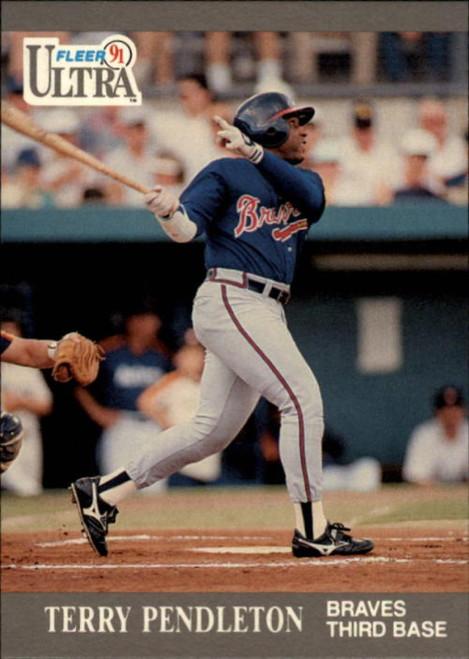 1991 Ultra #10 Terry Pendleton VG Atlanta Braves