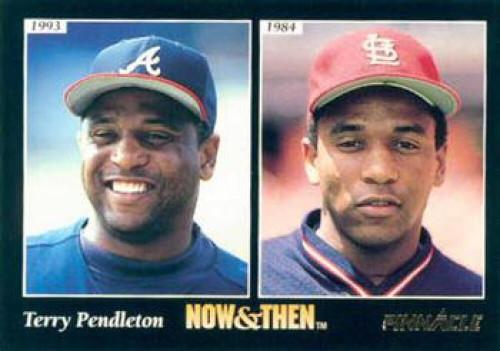 1993 Pinnacle #473 Terry Pendleton NT VG Atlanta Braves/St. Louis Cardinals