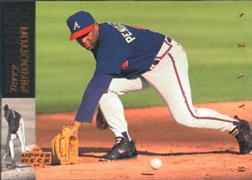 1994 Upper Deck #95 Terry Pendleton VG Atlanta Braves