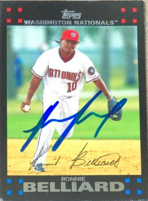 Ronnie Belliard Autographed 2007 Topps #551