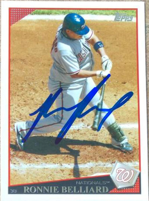 Ronnie Belliard Autographed 2009 Topps #197