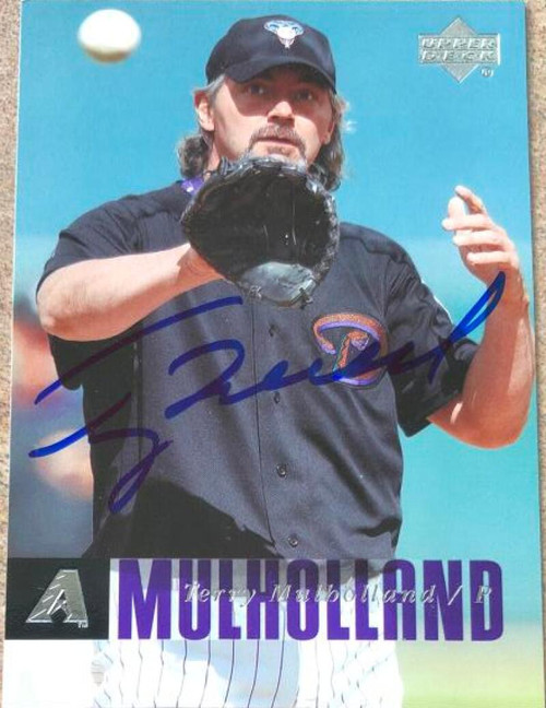 Terry Mulholland Autographed 2006 Upper Deck #511