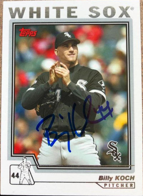 Billy Koch Autographed 2004 Topps #407