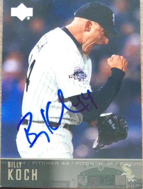 Billy Koch Autographed 2004 Upper Deck #121