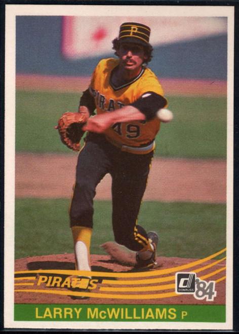 1984 Donruss #566 Larry McWilliams VG Pittsburgh Pirates