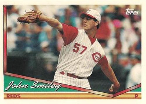 1994 Topps #12 John Smiley VG Cincinnati Reds
