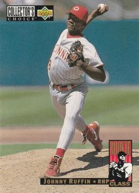 1994 Collector's Choice #17 Johnny Ruffin VG Cincinnati Reds