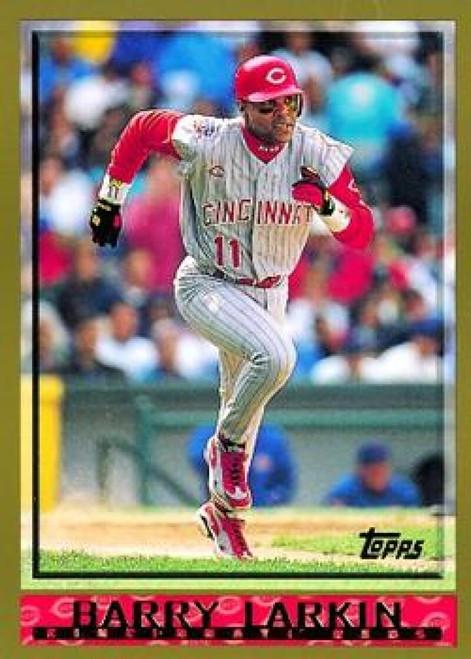 1998 Topps #302 Barry Larkin VG Cincinnati Reds