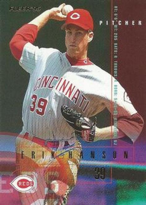 1995 Fleer #436 Erik Hanson VG Cincinnati Reds