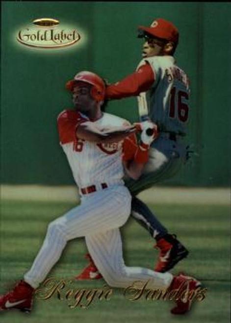 1998 Topps Gold Label Class 1 #13 Reggie Sanders NM-MT Cincinnati Reds