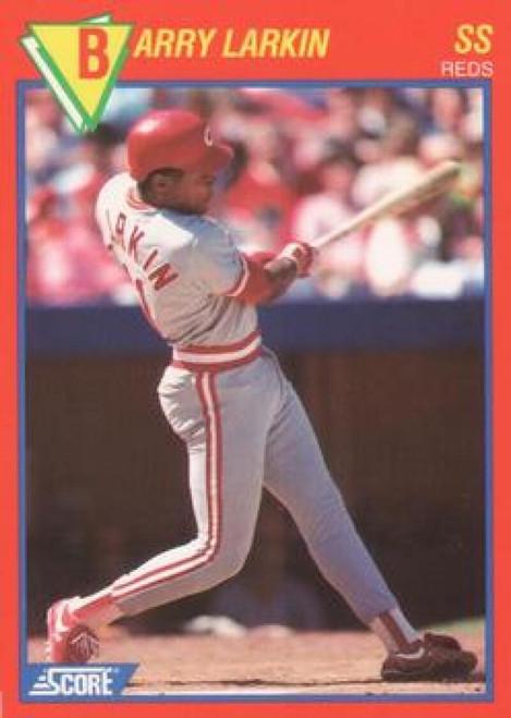1989 Score Baseball's 100 Hottest Players #52 Barry Larkin NM-MT Cincinnati Reds