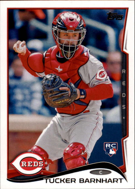 2014 Topps Update #US-172 Tucker Barnhart NM-MT  RC Rookie Cincinnati Reds