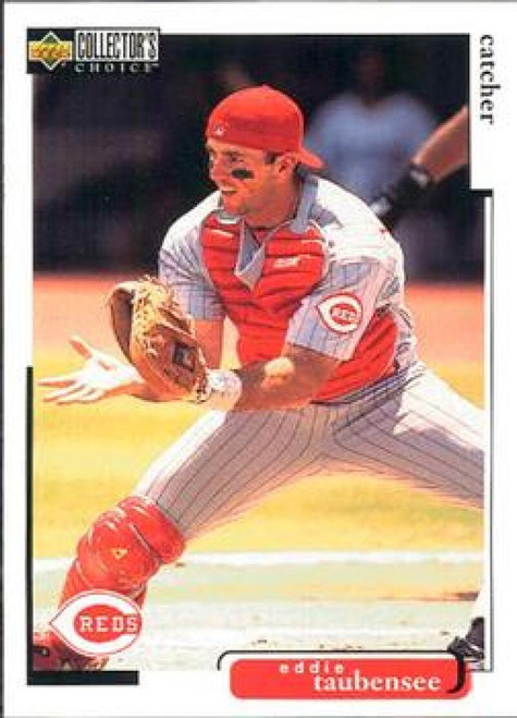 1998 Collector's Choice #342 Eddie Taubensee VG  Cincinnati Reds