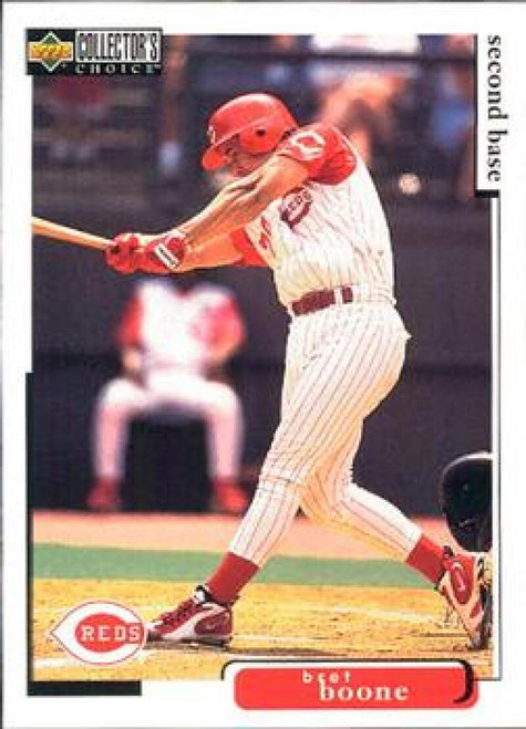 1998 Collector's Choice #343 Bret Boone VG  Cincinnati Reds