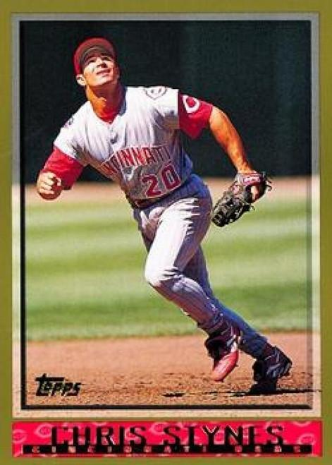 1998 Topps #340 Chris Stynes VG Cincinnati Reds