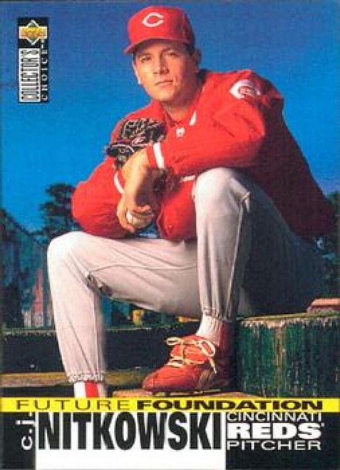 1995 Collector's Choice #43 C.J. Nitkowski VG Cincinnati Reds