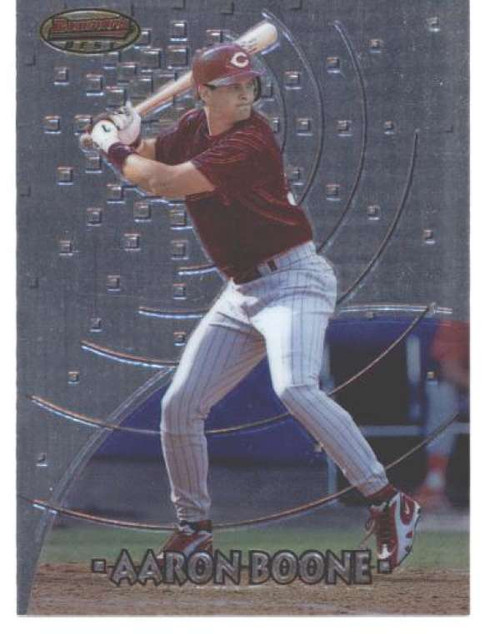 1997 Bowman's Best #125 Aaron Boone NM-MT  Cincinnati Reds