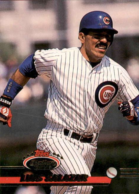 1993 Stadium Club #549 Luis Salazar VG Chicago Cubs