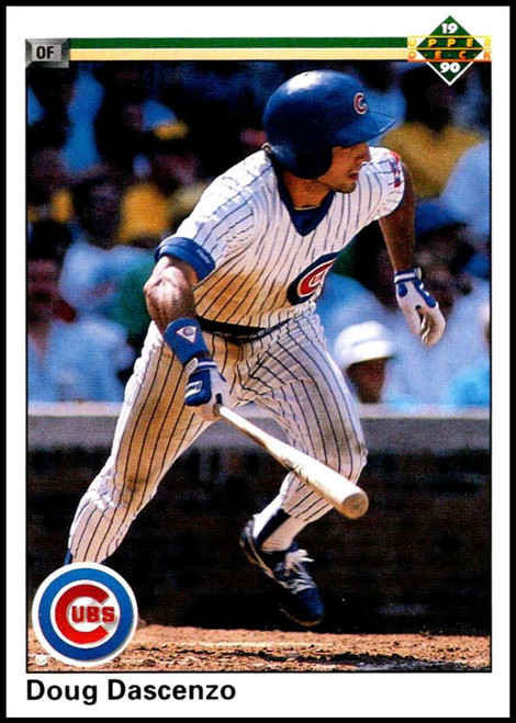 1990 Upper Deck #211 Doug Dascenzo VG Chicago Cubs