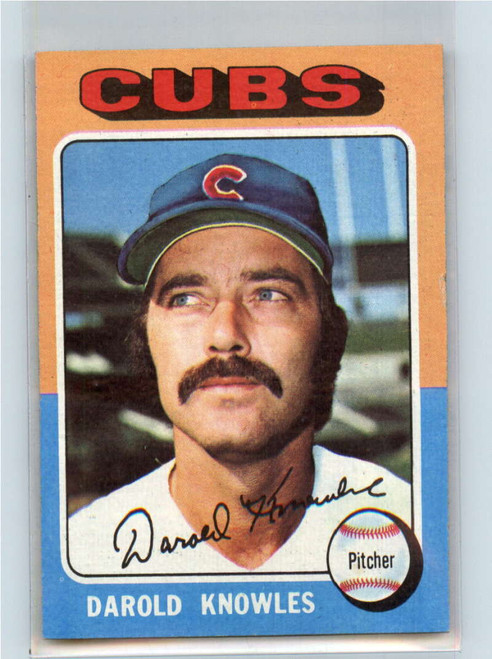 1975 Topps #352 Darold Knowles VG Chicago Cubs