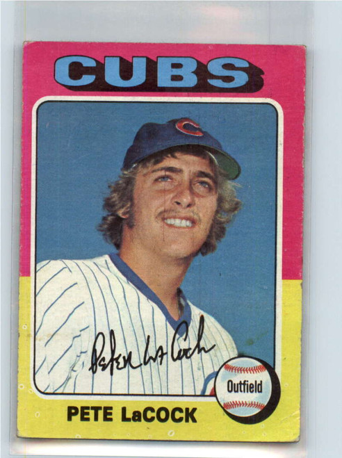 1975 Topps #494 Pete LaCock VG RC Rookie Chicago Cubs