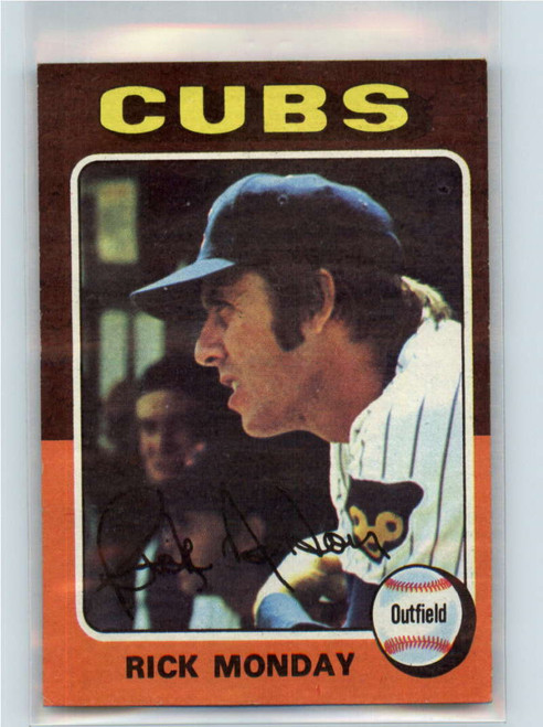 1975 Topps #129 Rick Monday VG Chicago Cubs