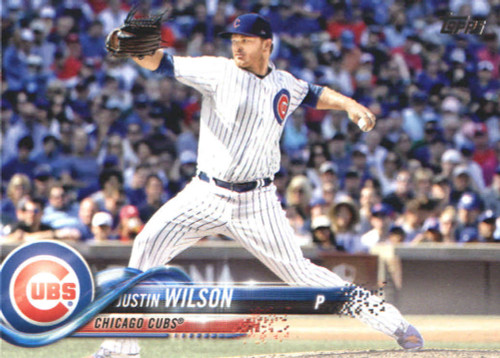 2018 Topps #643 Justin Wilson NM-MT Chicago Cubs