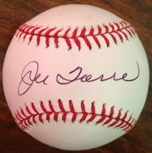 SOLD 3691 Joe Torre Autographed  ROMLB Baseball