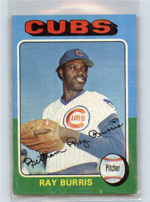 1975 Topps #566 Ray Burris VG Chicago Cubs