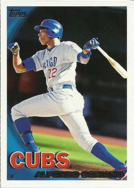 2010 Topps #647 Alfonso Soriano NM-MT  Chicago Cubs
