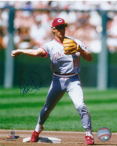 Bill Doran Autographed Cincinnati Reds 8 x 10 Photo 5