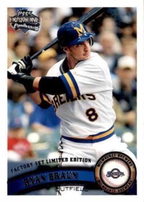 2011 Topps Diamond Anniversary Factory Set #1 Ryan Braun NM-MT  Milwaukee Brewers