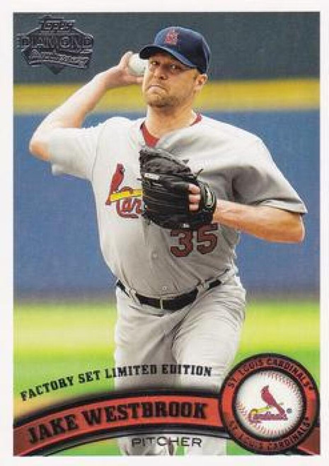 2011 Topps Diamond Anniversary Factory Set #2 Jake Westbrook NM-MT  St. Louis Cardinals