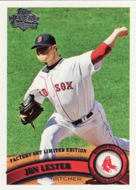 2011 Topps Diamond Anniversary Factory Set #3 Jon Lester NM-MT  Boston Red Sox