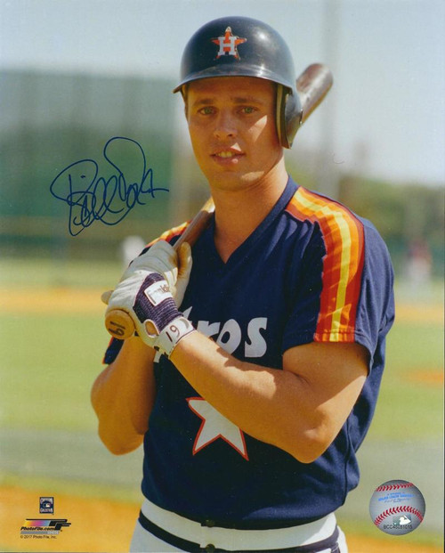 Bill Doran Autographed Houston Astros 8 x 10 Photo