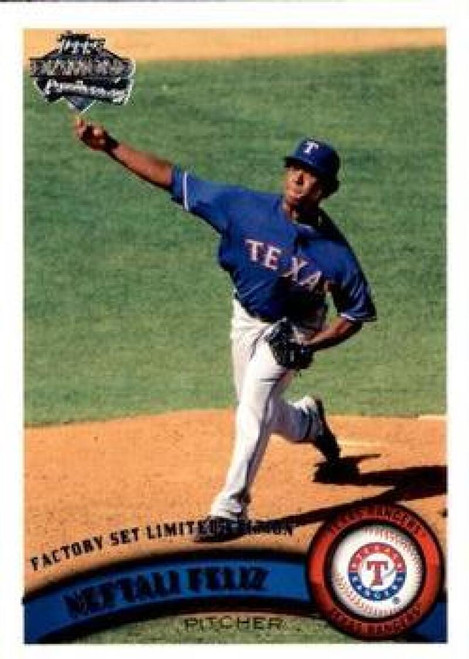 2011 Topps Diamond Anniversary Factory Set #6 Neftali Feliz NM-MT  Texas Rangers