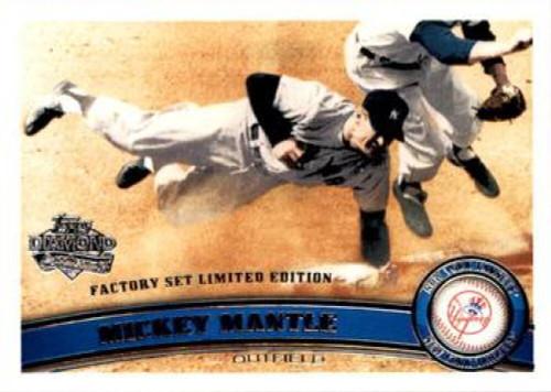 2011 Topps Diamond Anniversary Factory Set #7 Mickey Mantle NM-MT  New York Yankees