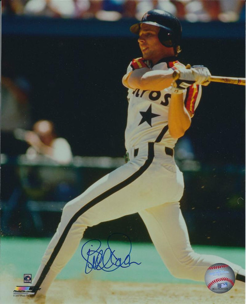 Bill Doran Autographed Houston Astros 8 x 10 Photo 2