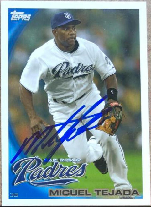 Miguel Tejada Autographed 2010 Topps Update #US-60