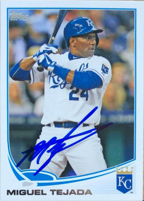 Miguel Tejada Autographed 2012 Topps Update #US170