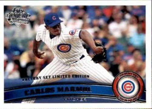 2011 Topps Diamond Anniversary Factory Set #12 Carlos Marmol NM-MT  Chicago Cubs