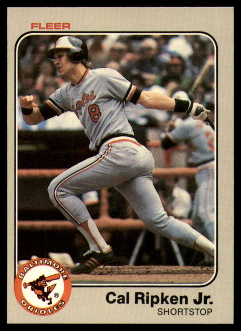 1983 Fleer #70 Cal Ripken Jr. VG Baltimore Orioles
