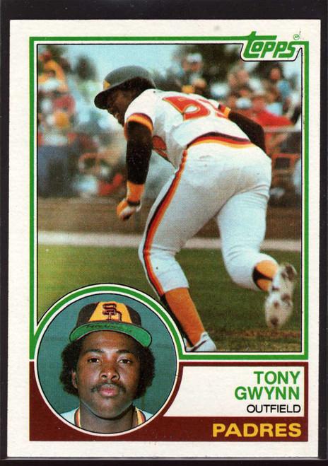 1983 Topps #482 Tony Gwynn UER VG RC Rookie San Diego Padres