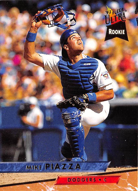 1993 Ultra #60 Mike Piazza VG Los Angeles Dodgers