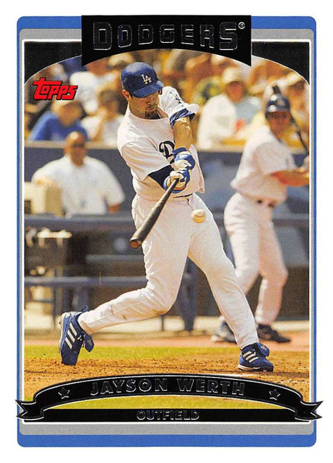 2006 Topps #109 Jayson Werth NM-MT  Los Angeles Dodgers