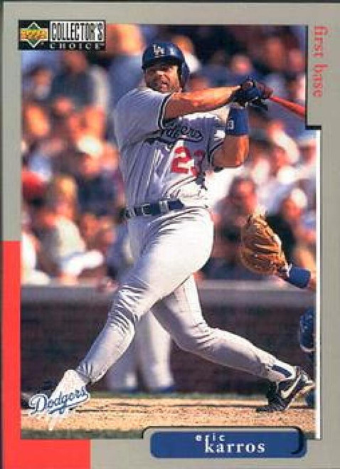 1998 Collector's Choice #395 Eric Karros VG  Los Angeles Dodgers