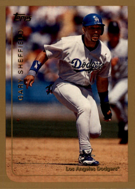 1999 Topps #55 Gary Sheffield VG Los Angeles Dodgers