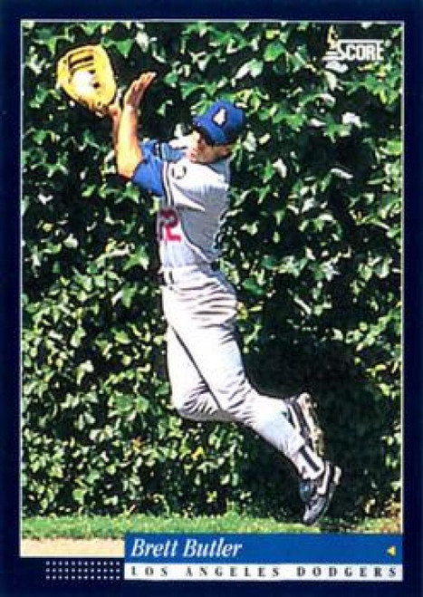 1994 Score #46 Brett Butler VG Los Angeles Dodgers