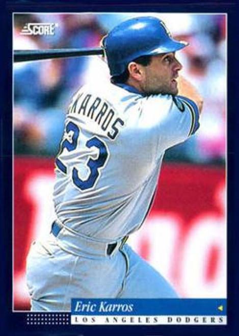 1994 Score #26 Eric Karros VG Los Angeles Dodgers